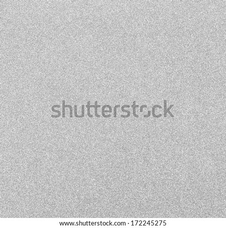 Glitter: Silver Glitter Background - stock photo