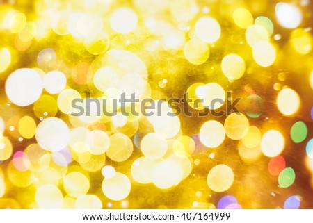 Glitter vintage lights background