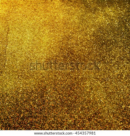 Glitter vintage lights background - stock photo