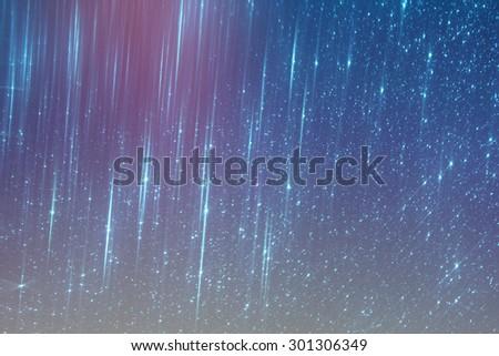 glitter vintage lights background. silver, blue and black. de-focused.  - stock photo