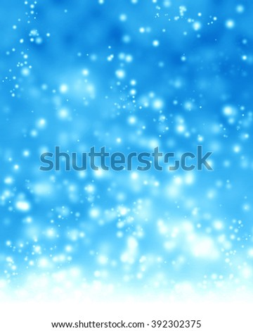 Glittering blue background