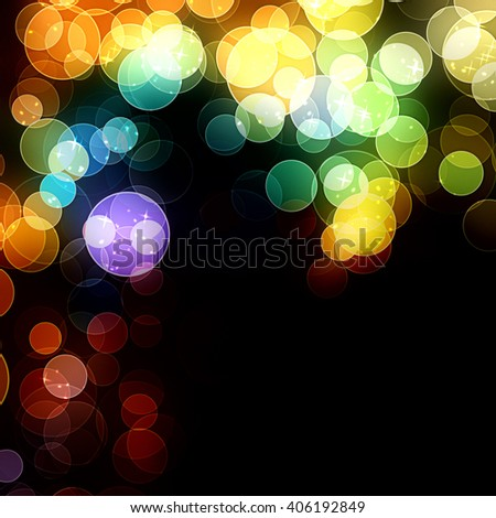 Glittering Bokeh background