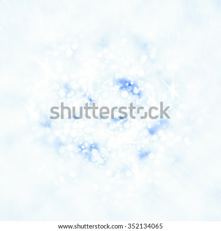 Glittering lights seen through an abstract drawing on foggy window. Colorful texture for Christmas, New Year and other holidays. Blurry pattern for text, cover and presentation.