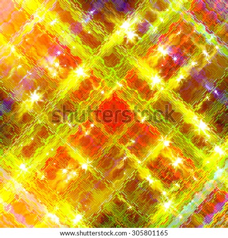 Glittering stars blurred colorful background  - stock photo