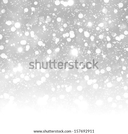 Glittering white abstract background - stock photo
