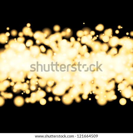 Glittery gold background. For vector version, see my portfolio. - stock photo