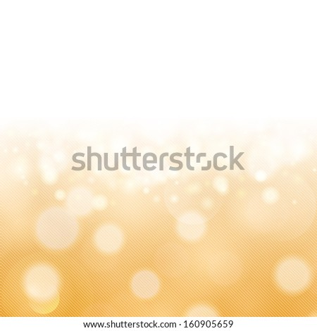 Glittery gold Christmas background. - stock photo