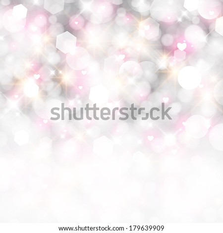 Glittery lights abstract holiday background.