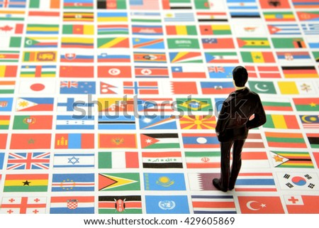 Global business concepts - stock photo