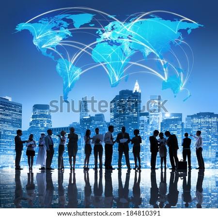 Global Business Team - stock photo