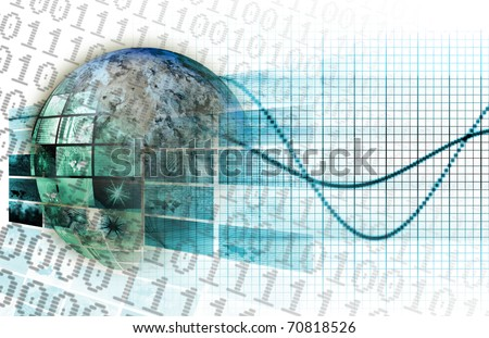 Global Business Technology Network as a Concept - stock photo