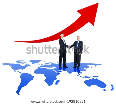Global Business Trends - stock photo