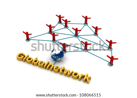 Global communication network