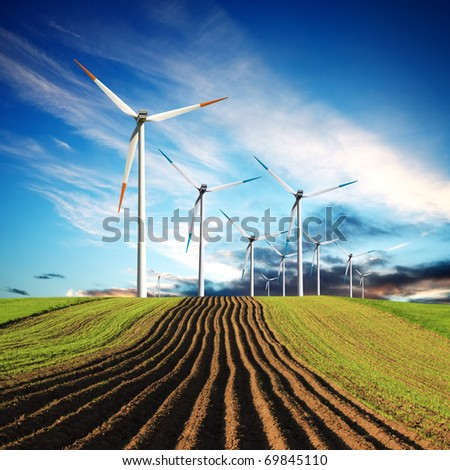 Global Eco Power - stock photo