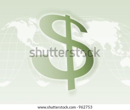 Global Economy Background - stock photo
