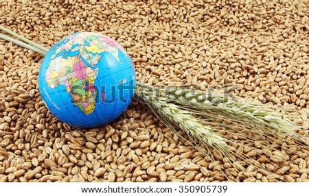 Global food - stock photo