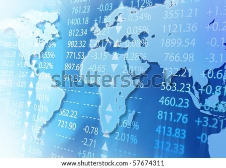 global market - stock photo