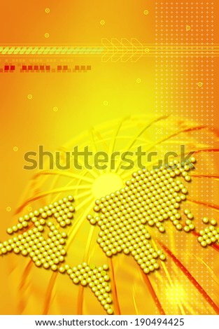 Global perspective - stock photo