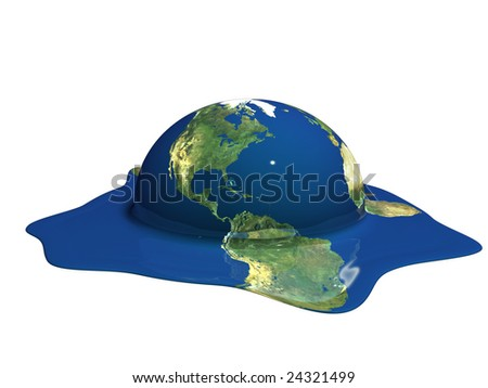 Global Warming - stock photo