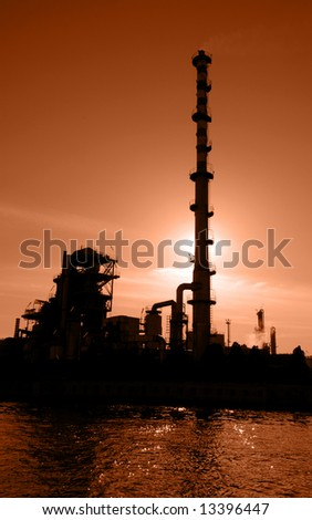Global Warming: Petrochemical Plant