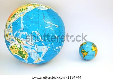 globe #3 - stock photo