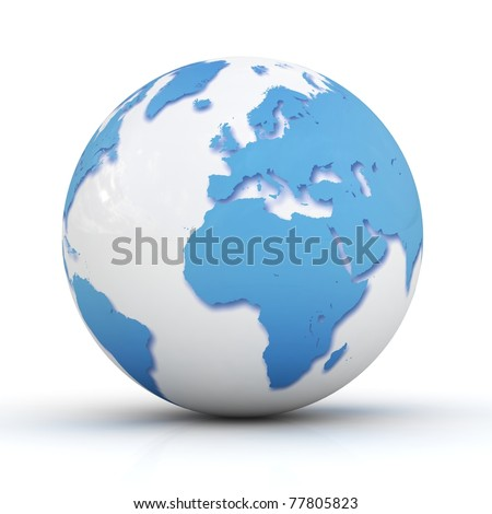 Globe. - stock photo