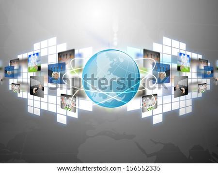 globe business  - stock photo