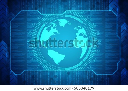 globe internet connecting,2d illustration