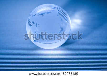 globe of the glass