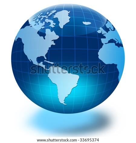 Globe of the World - stock photo