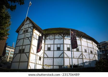 Globe Theatre - stock photo