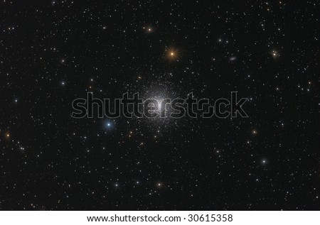 Globular cluster in Hercules (M 13). - stock photo