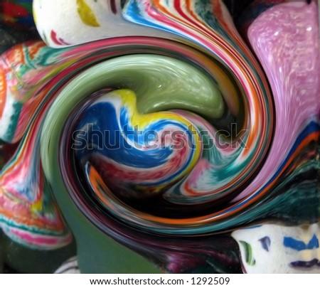 Globular Twist - stock photo
