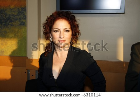 Gloria Estefan - stock photo