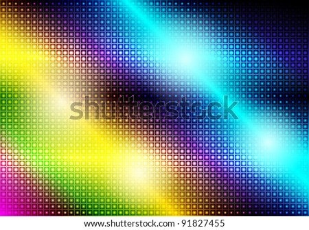 Glowing Abstract Party Background - stock photo