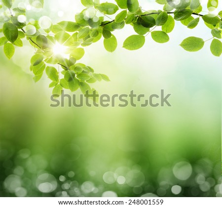 Glowing background with space for your copy - stock photo