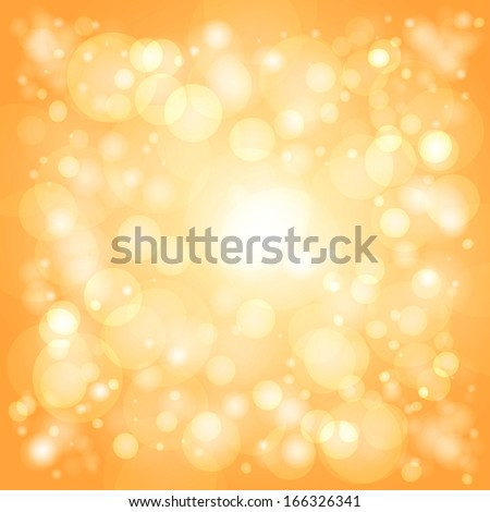 glowing bright orange background with highlights