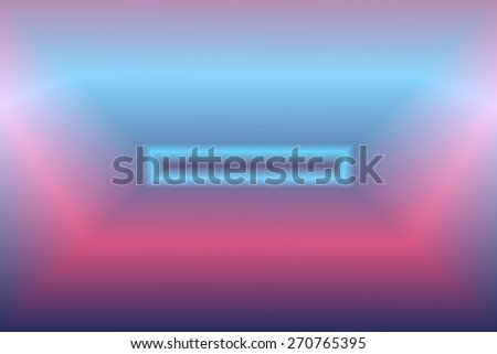Glowing Fractal - stock photo