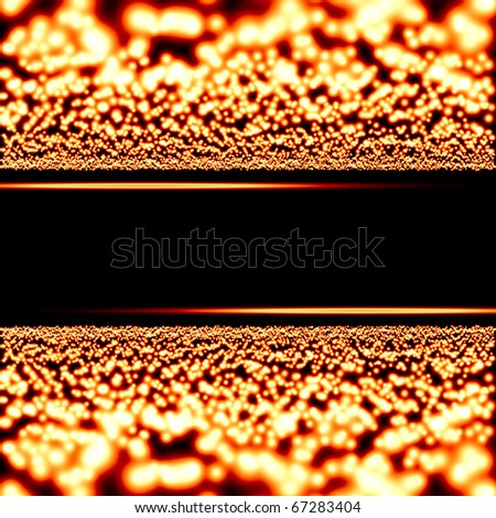 glowing motion plasma and funnel - stock photo