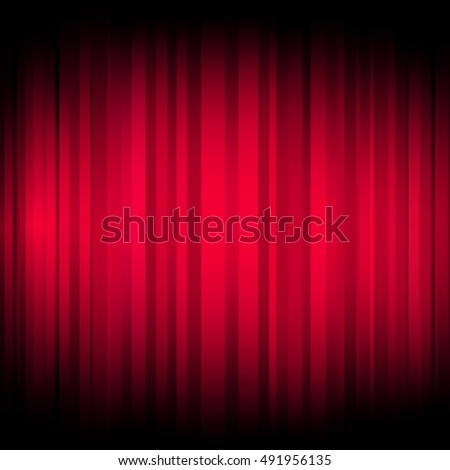 Glowing Red Lines Background
