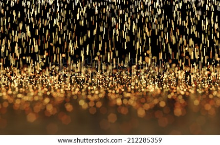 Glowing Sparks Abstract Background - stock photo