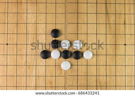 Go An Ancient Chinese Board Game That Contain Of Many Possibility The Direction