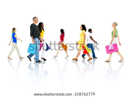 Go for Shopping - stock photo