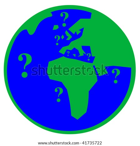 Go green world - stock photo