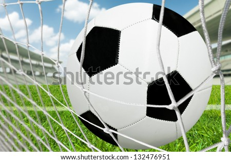 Goal - stock photo