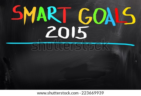 Goals Concept - stock photo