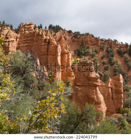 Goblin on the  Devils Kitchen (small Bryce Canyon), Utah (USA) - stock photo