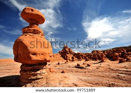 Goblin Valley State Park, Utah - stock photo