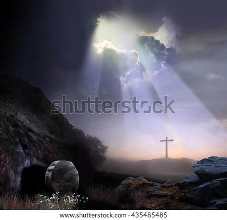 God's Beloved Son - stock photo