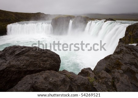 Godafoss - Iceland - stock photo
